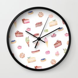 Dessert Time is Every Time Wall Clock
