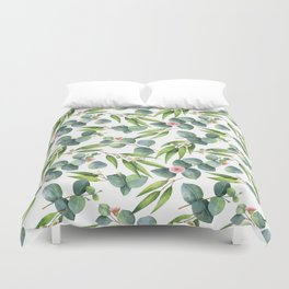 Bamboo and eucaliptus pattern Duvet Cover