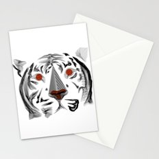 Moirè Tiger Stationery Cards