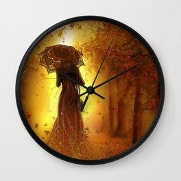 Be my autumn Wall Clock