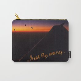 Just Fly Away Carry-All Pouch