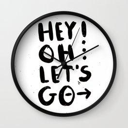 Hey! Oh... Wall Clock