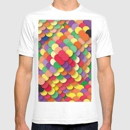 autumn circles T-shirt