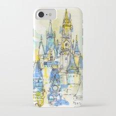 Cinderella's Castle Magic Kingdom  iPhone 7 Slim Case