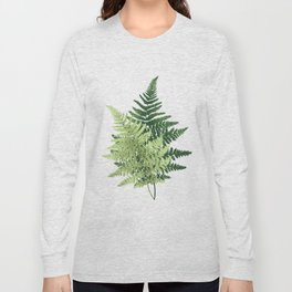 Summer Forest Ferns Long Sleeve T-shirt