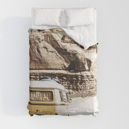 Boho Van Desert Road Trip  Comforters