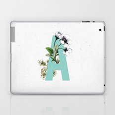 Letter 'A' Monogram Laptop & iPad Skin