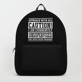 Caution! Unsupervised Backpack