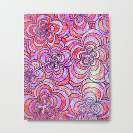 Zendoodle Artwork Metal Print