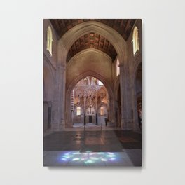 Conjoined Faiths 2 (Mosque-Cathedral of Cordoba) Metal Print