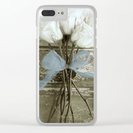 Pure Beauty Clear iPhone Case