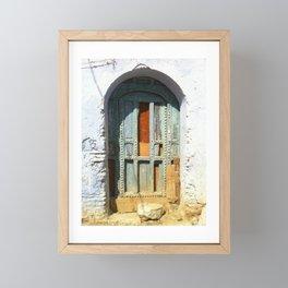 """Old Door"" / Porte Vintage / by WHITEECO Ecologic design Framed Mini Art Print"