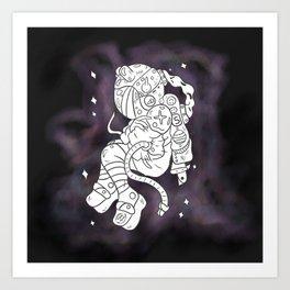 Odd Space Art Print