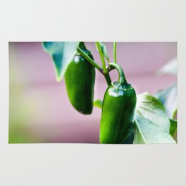 Jalapeno Pepper Photography Rug