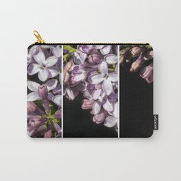 Lilac Bouquet Triptych One Carry-All Pouch
