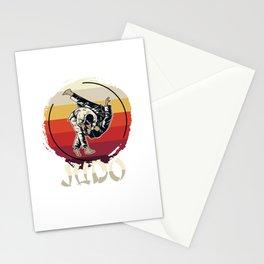 Judo Master Stationery Cards