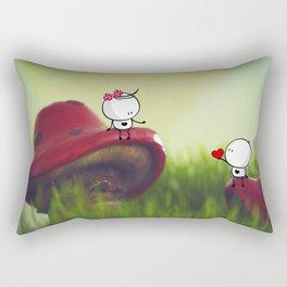 with love Rectangular Pillow