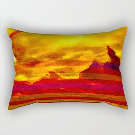 The Red Planet. Rectangular Pillow