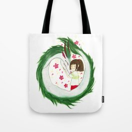 Watercolor Spirited Away - The Love Gathering Tote Bag