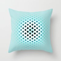 polka dot Throw Pillows featuring Polka dot by PiliArt
