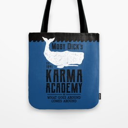 The Moby Dick Academy of Karma Tote Bag