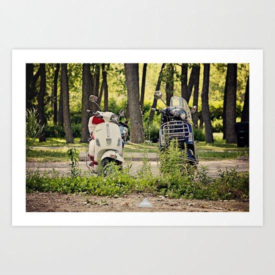 His & Hers Art Print