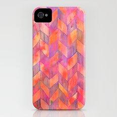 PATTERN {Chevron 012} Slim Case iPhone (4, 4s)