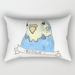 Budgie/Parakeet Rectangular Pillow