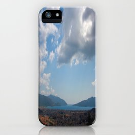 Sunshine, Clouds and Shadows Over The Bay Of Marmaris iPhone Case