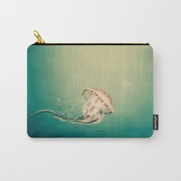 Lady Jellyfish is swimming in the calm sea of Trieste. Carry-All Pouch