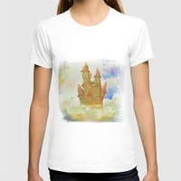 castle in the sky T-shirts featuring castle in the sky by Ancello