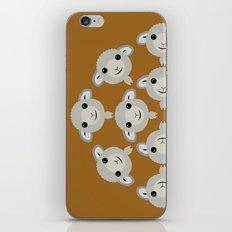 Sheep Circle - 2 iPhone & iPod Skin