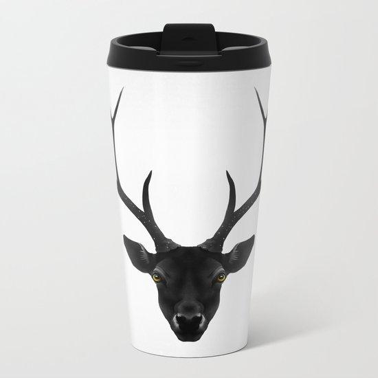 The Black Deer Metal Travel Mug