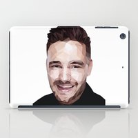 liam payne iPad Cases featuring Liam Payne - One Direction by jrrrdan