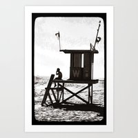 W is for the Wedge Art Print