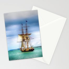 The Journey Begins - Flagship Niagara, Erie, PA Stationery Cards