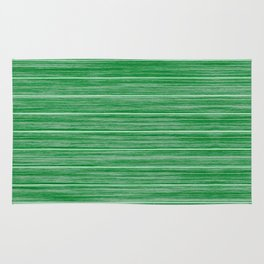 Bright Pastel Green Wood Beach House Cladding Rug