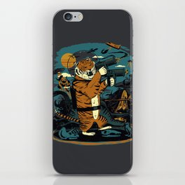 Death to the Dinosaurs iPhone Skin