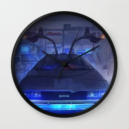 Building the time machine Wall Clock