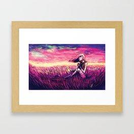 Fortune waits... Framed Art Print
