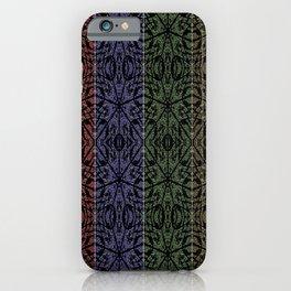 Unusual Rose Pattern 4 Squares iPhone Case
