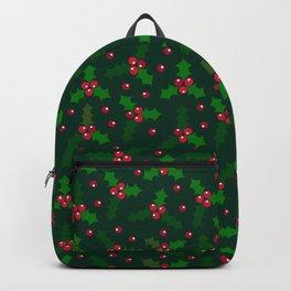 Holly Berries Backpack