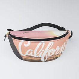 Surf California Wave Riders Fanny Pack