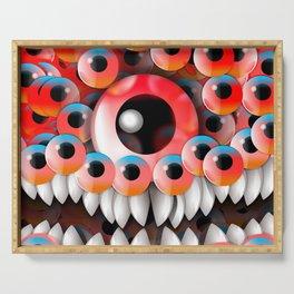 Eyeball Monster Serving Tray