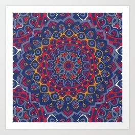 Brianne Mandala Art Print