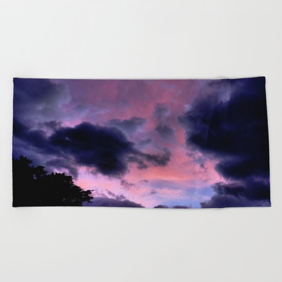 Cloud Invasion Beach Towel
