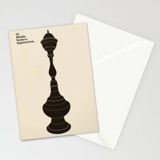Of Middle Eastern Appearance Stationery Cards