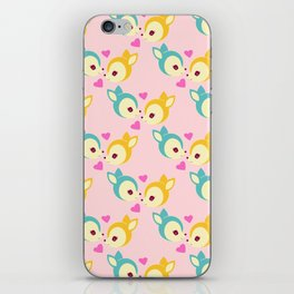 deerly pattern iPhone Skin