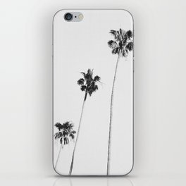 Black & White Palms iPhone Skin