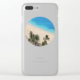 Hawaii Dreams Clear iPhone Case